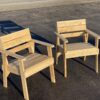 Pallet Wood Chairs - How to build for Free