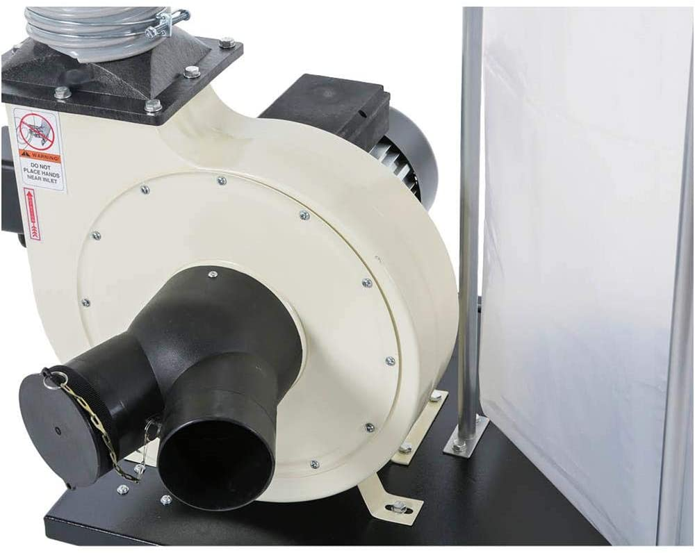 SHOP FOX W1685 1.5-Horsepower 1,280 CFM Dust Collector